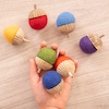 Rainbow Acorns 7pk  small