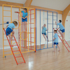 3 Piece Steel Gym Climbing Frame  small