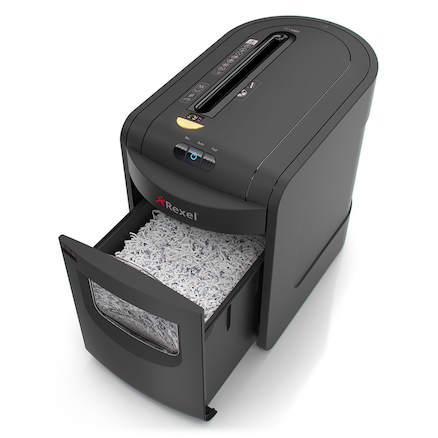 Rexel Manual Feed Cross Cut Shredder 20\-30L  large