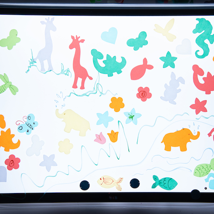 Light Panel Messy Play Protective Cover 4pk  large