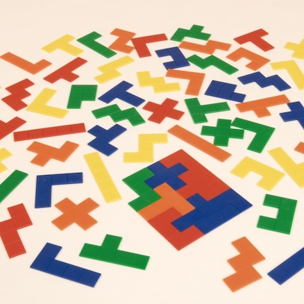 Pentominoes Shapes 60pk  large