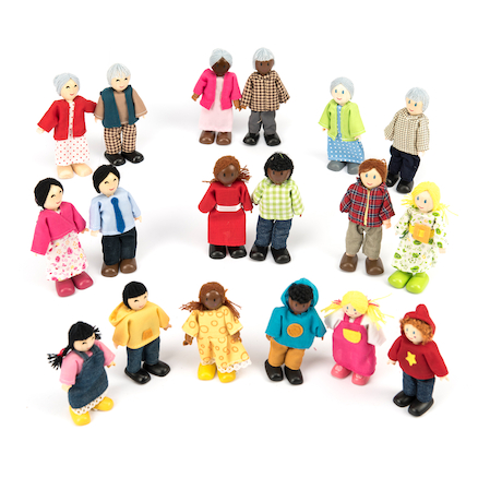 Small World Multicultural Family Set Multibuy  large