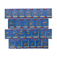 Letter Formation Tracing Magnet Boards 26pk  medium