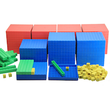 RE-Plastic® Base Ten Class Set  medium
