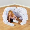 White Foam Bricks 75pk  small