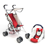 Role Play Dolls Pram and Carrier Set  small