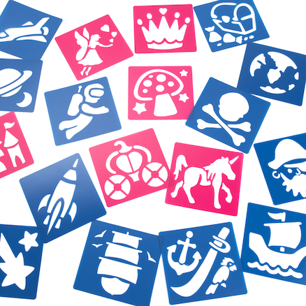Washable Stencil Assortment  large