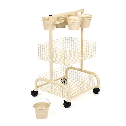 Mini Metal Craft Trolley  large