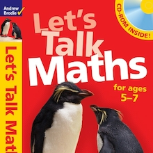 Let's Talk Maths Activity Book and CD  medium