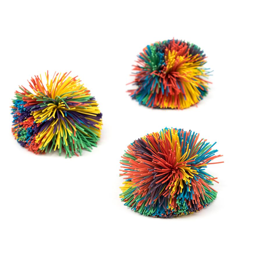 buy pom pom rubber fidget ball