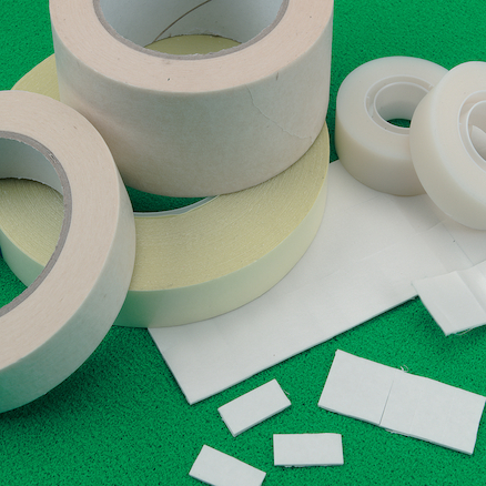 Double Sided Sticky Tape 33m Roll x 12mm Wide  large