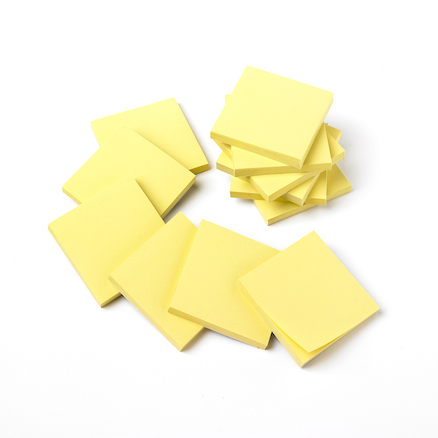 Recycled Sticky Notepads 12pk  large