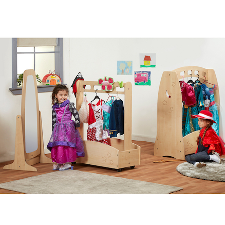 Role Play Wooden Dressing Up Station  large