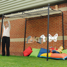 Outdoor Wall Mounted Gazebo W2.5 x H2.5m  medium