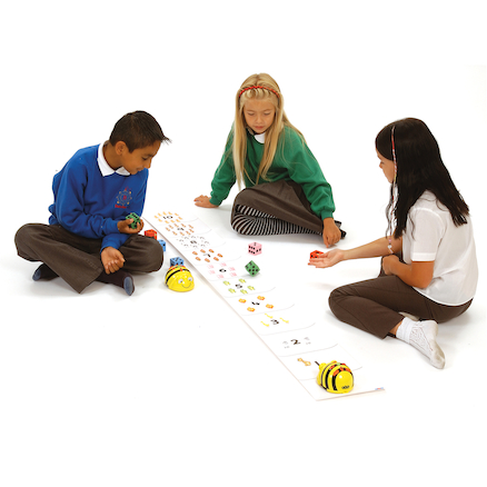 Bee\-Bot\u00ae and Blue Bot Number Line Mat  large
