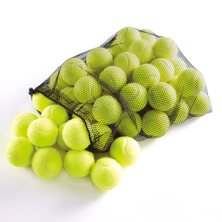 Training Quality Tennis Balls and Bag 48pk  large