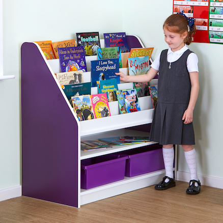 Valencia Front Facing Book Storage  large