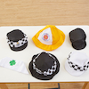 People Who Help Us Role Play Hats 6pcs  small