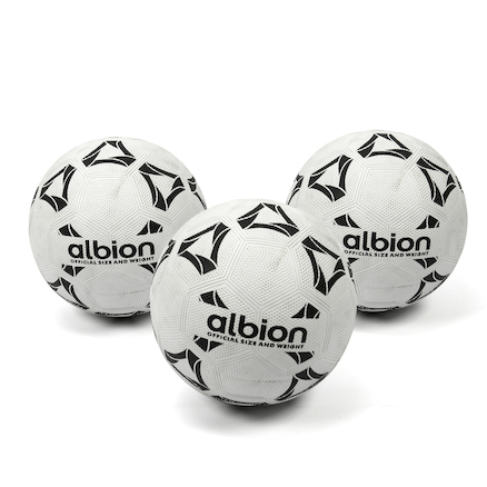 All Surface Nylon Wound Footballs 3pk  large