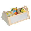 Natural Kinderbox with Mirrors H40 x W83 x D57cm  small