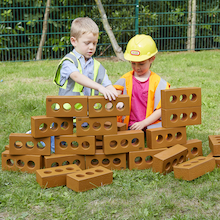 Role Play Foam House Building Bricks  medium