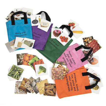 Healthy Eating Shopping Bags   large