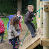 Outdoor Wooden Climbing Unit  small