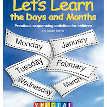 Let's Learn The Days And Months Activity Book  medium