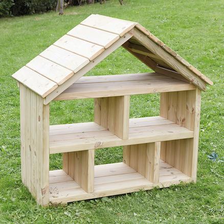 buy outdoor wooden dolls house tts. Black Bedroom Furniture Sets. Home Design Ideas