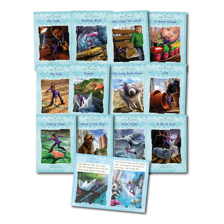 Alba Series Catch Up Phonic Reading Books 12pk  large