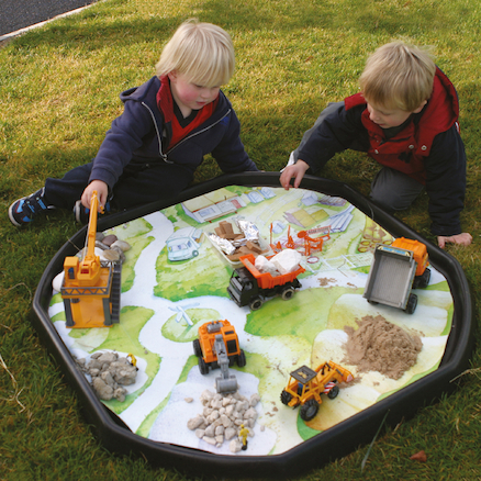 Active World Tuff Tray Builders Yard Mat  large