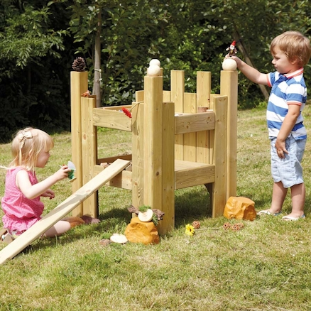 Outdoor Wooden Enchanted Castle  large