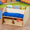 Story Seat with Book Storage  small