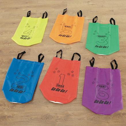 Non Slip Jumping Sacks 6pk  large