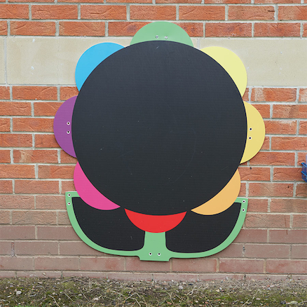 Giant Mark Making Chalkboard Daisy  large