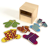 Matching Pairs Socks and Mittens Posting Set 12pcs  small