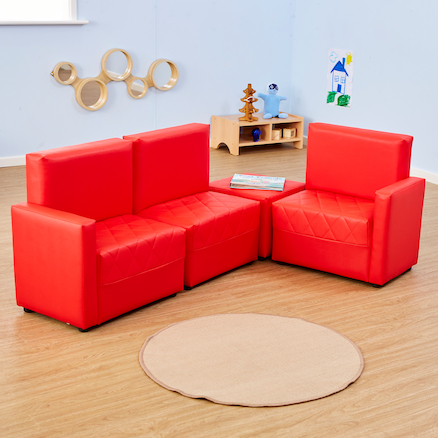 PVC Reading Corner Sofas  large