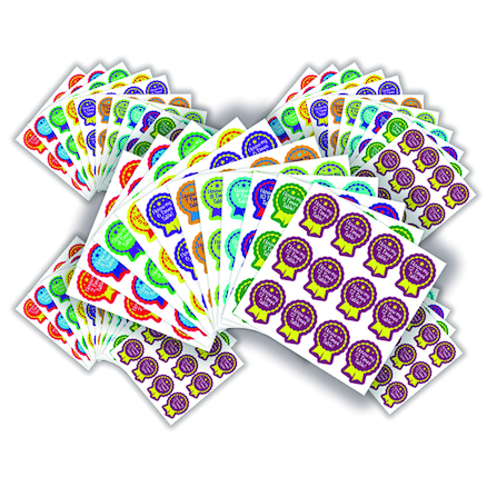 Times Table Reward Stickers 660pk  large