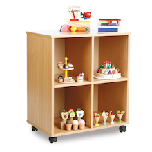 Allsorts Four Compartment Stackable Unit  medium