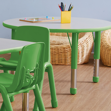Valencia Classroom Furniture Set Green SH310mm  large