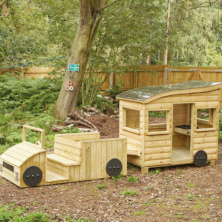 Outdoor Wooden Truck and Caravan Special Offer  large