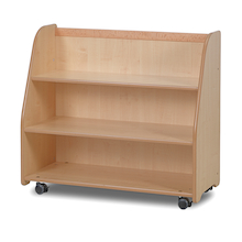 Millhouse Mobile Access Shelf With Back  medium