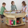 Active World Wooden Table D100 x H58cm  small