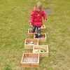 Outdoor Wooden Sorting Trays 6pk  small