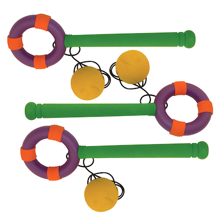 Swinging Foam Catch Loop and Ball 3pk  large