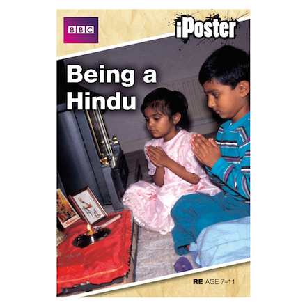 Hinduism Interactive CD and A2 Poster  large