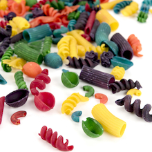 Coloured Pasta Shapes Assorted 454g  medium