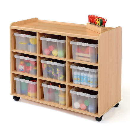 Safe Sturdy Tray Storage Units With Deep Trays  large