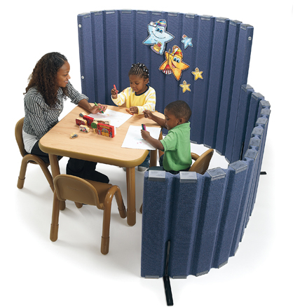 Sound Absorbing Room Divider  large