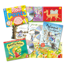 KS1 Book and CD Guided Reading Pack  medium